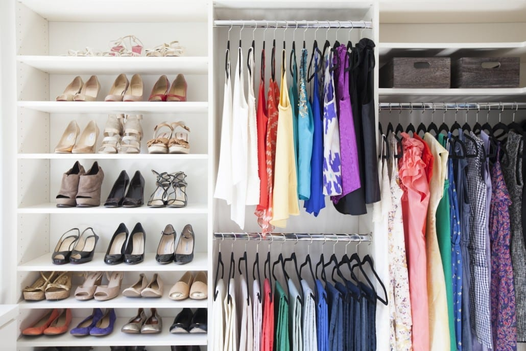 An organized closet will save you time and frustration. Via Ariannabelle