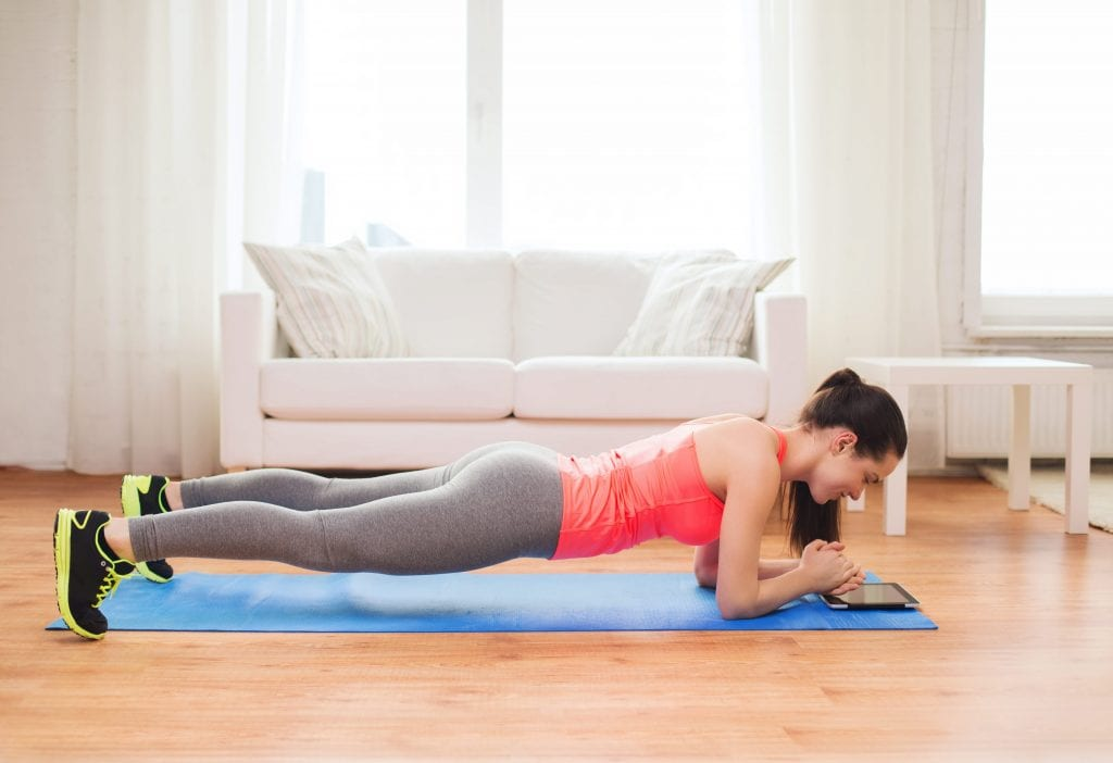 Modified Plank exercise