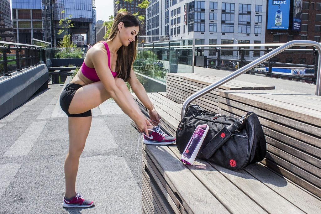 Hot to pack a gym bag