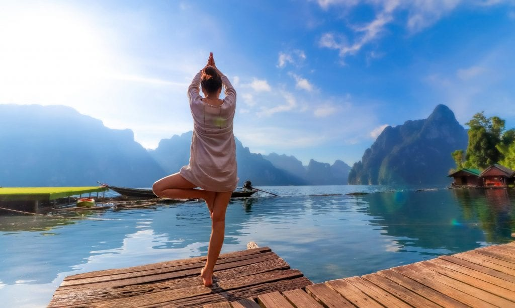 Memorial Day Travel Destination Yoga
